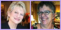 Carolyn Edlund and Mckenna Hallet