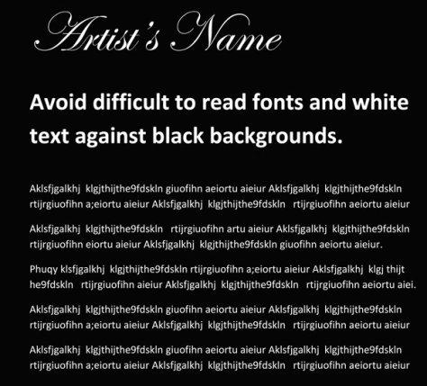 Art website test