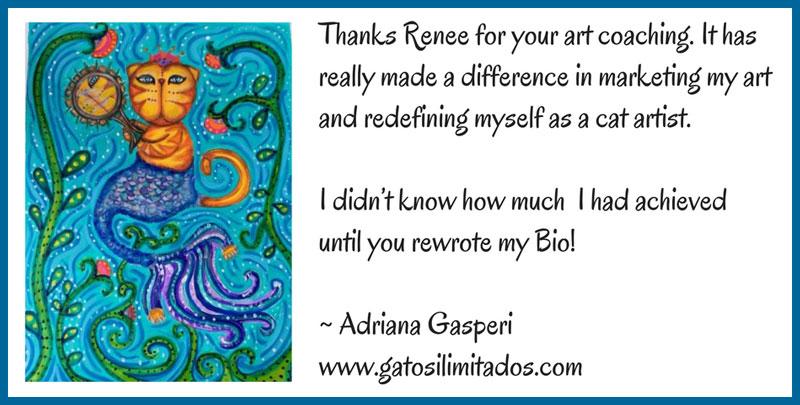 Praise for Renee Phillips artist consultant