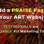 Add A Praise Page to Your Art Website