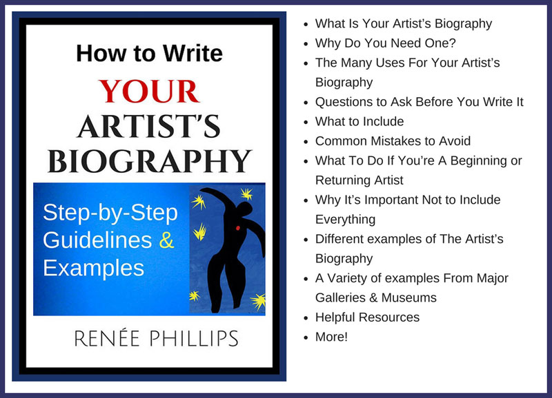 how to write your artists biography e book has been revised and expanded