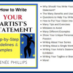 Mistakes to Avoid When Writing Your Artist's Statement