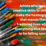Teaching Art Brings Hope to Future Generations