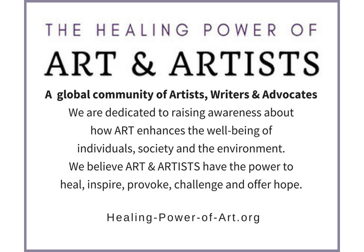 website devoted to art healing