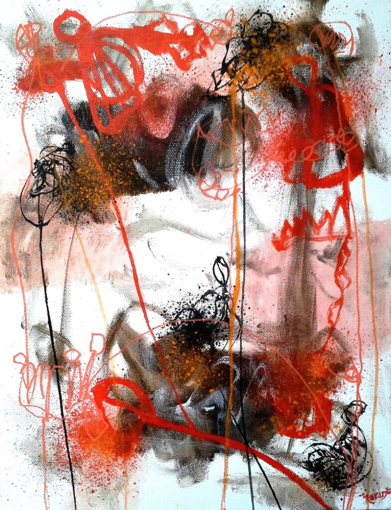 abstract painting by Keith Morant